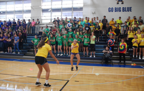 Homecoming competitions bring the classes together