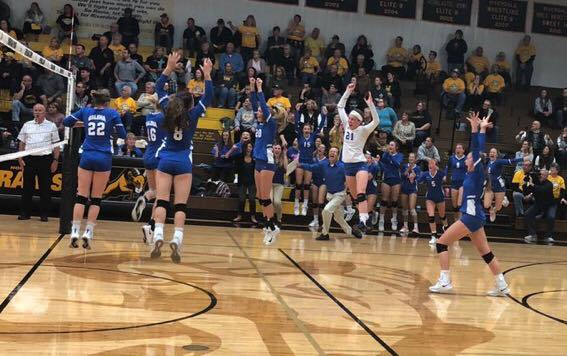 Lady Pirates bring home sectional title