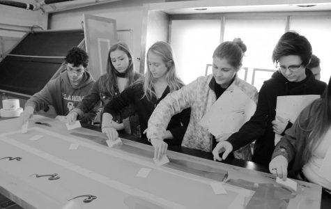 Students study Signcraft