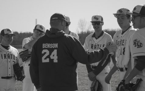 Untold story: Coach Benson shares wise words with team