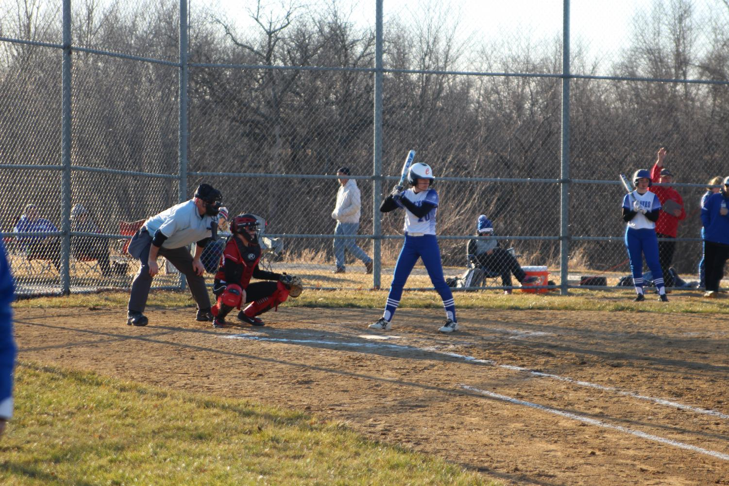 Lady Pirates play unexpected double header