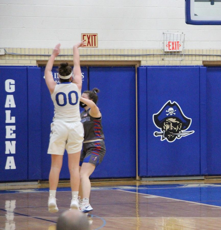 %09The+Galena+Girls+Varsity+Basketball+team+has+started+their+unpredicted+season+off+better+than+they+could+have+dreamed+of.+They+are+currently+standing+at+5-0%2C+with+two+wins+over+Warren%2C+two+wins+over+East+Dubuque%2C+and+one+against+Polo.+They+have+been+pouring+their+hearts+into+this+team+since+the+start%2C+and+there+has+been+much+excitement+expressed+for+the+rest+of+the+season.+With+a+short+season+packed+full+of+games%2C+there%27s+not+much+time+for+practice%2C+so+the+team+takes+advantage+of+any+time+they+get+together+to+better+themselves+as+individuals+and+a+team+as+a+whole.+%0A%0A%09The+Galena+Varsity+team+is+filled+with+underclassmen%2C+forcing+them+to+step+up+and+play+with+the+older+girls.+%E2%80%9CI+am+so+honored+to+have+been+welcomed+onto+the+varsity+team+with+such+open+arms%2C%E2%80%9D+said+Addie+Hefel+%E2%80%9824.+%E2%80%9CI+knew+there+were+not+many+numbers+out+for+the+team+this+year%2C+so+I+have+taken+it+upon+myself+to+play+my+best+game+personally+to+help+the+team.+I+am+so+excited+about+our+strong+start+to+the+season%2C+and+can+not+wait+to+see+what+the+future+brings.%E2%80%9D+With+the+season+benign+pushed+back+so+far+and+benign+shortened+so+much%2C+every+day+counts+for+our+athletes.%0A%09%0A%09The+team+is+filled+with+many+underclassmen+this+year%2C+and+they+have+really+had+to+step+up+to+take+on+a+few+big+roles.+With+only+one+senior%2C+and+three+playing+juniors%2C+all+of+the+other+players+are+underclassmen.+Maggie+Furlong%2C+a+junior%2C+had+a+tough+end+to+her+junior+year+sports+career+when+she+tore+her+ACL+in+a+club+volleyball+tournament+just+before+the+season+started.+%E2%80%9CHaving+to+sit+on+the+sidelines+with+my+knee+in+a+brace%2C+with+only+one+ability%2C+which+is+to+cheer+on+my+team%2C+is+a+challenge+for+me%2C%E2%80%9D+said+Furlong+%E2%80%9822.+%E2%80%9CI+have+played+sports+my+whole+life%2C+and+tend+to+spend+most+of+my+time+on+the+court%2C+so+having+to+observe+from+the+sidelines%2C+knowing+I+have+a+long+time+off%2C+is+sad.+However+I+am+so+proud+of+